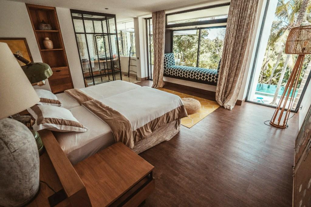 Bedroom suite at Escape Rituals in Bali.