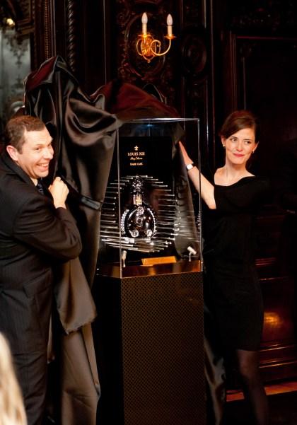 Vincent Géré at the launch of the Remy Martin Louis XIII RARE CASK