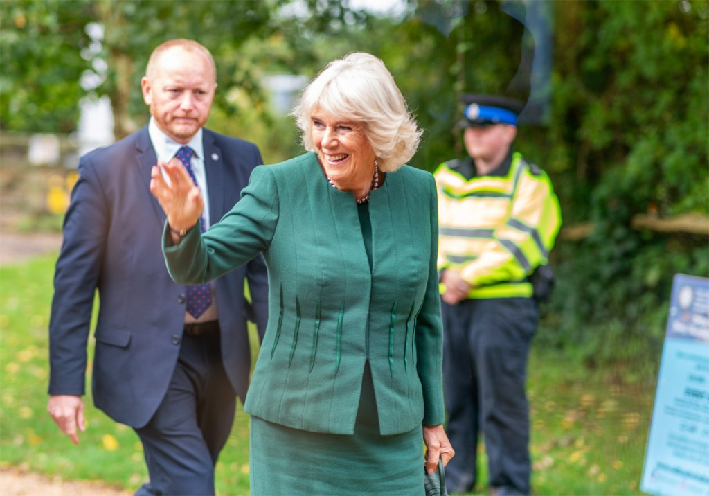 The Duchess of Cornwall Visits The Ditchling Museum of Art + Craft