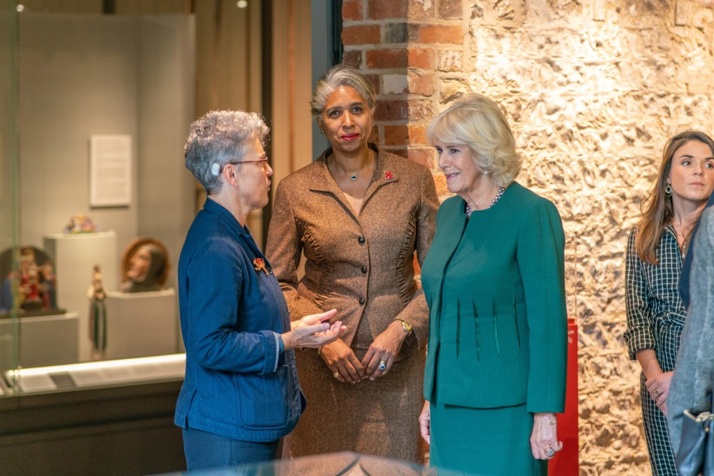 The Duchess of Cornwall Visits The Ditchling Museum of Art + Craft 2