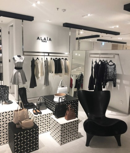 Alaia Paris at Harvey Nichols.