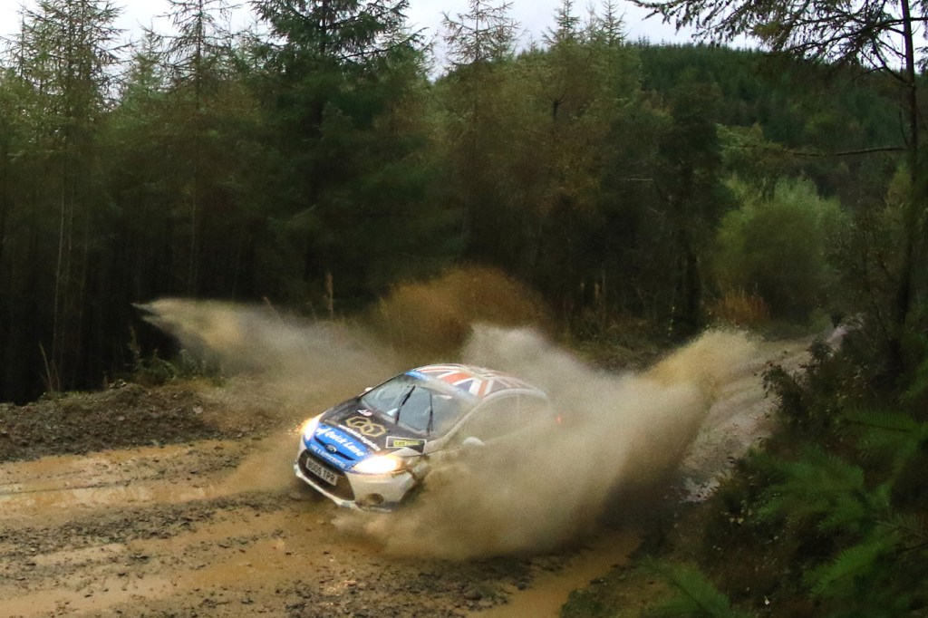 Louise Cook talks about Life Behind The Wheel at the 2019 Wales Rally GB 2