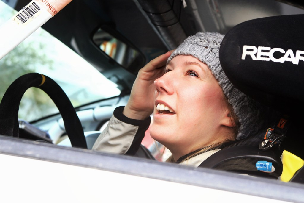 Louise Cook talks about Life Behind The Wheel at the Wales Rally GB