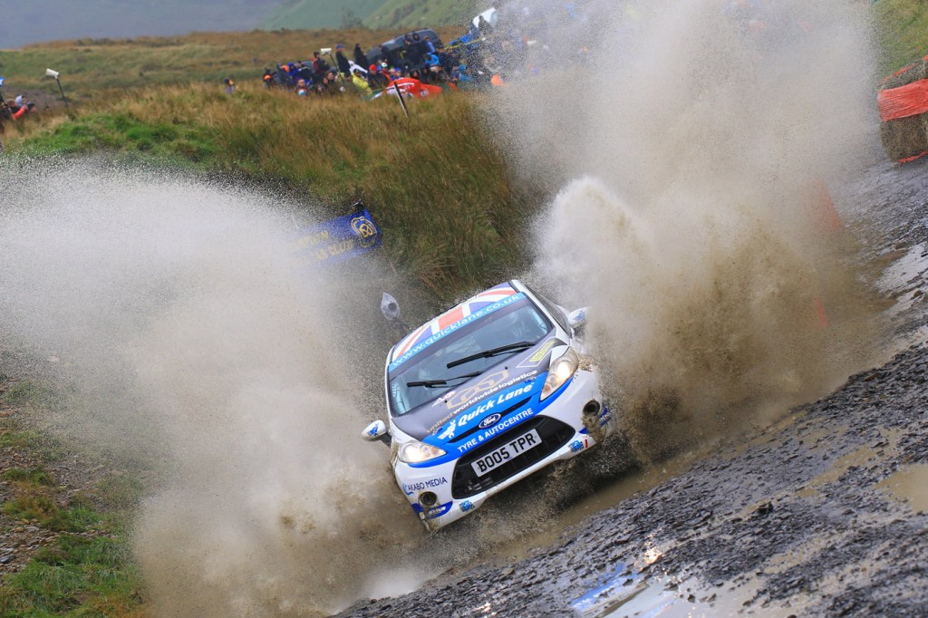 Louise Cook unleashes the power of the Ford
