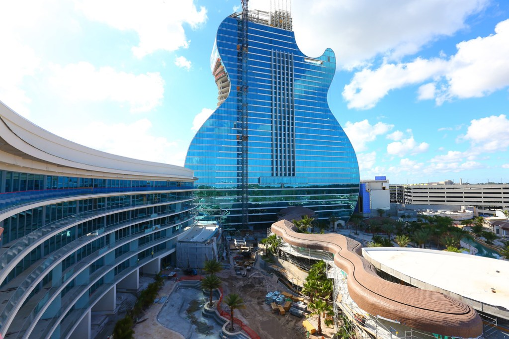 Music To Your Ears: The World's First Guitar-Shaped Hotel Opens 6