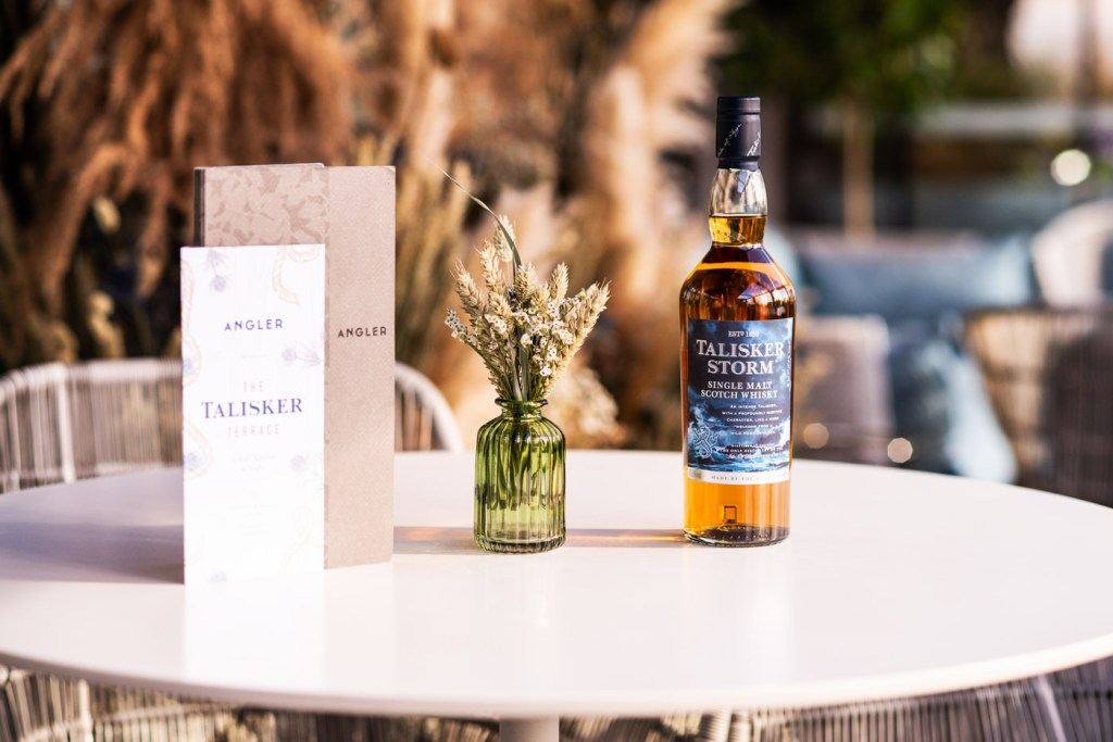 Angler Launch the Talisker Terrace - Perfect for Autumn Cocktails