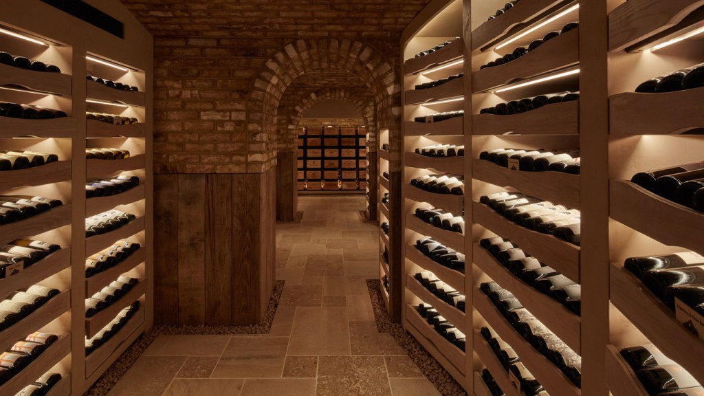 Hide Bar and Restaurant London Wine Cellar