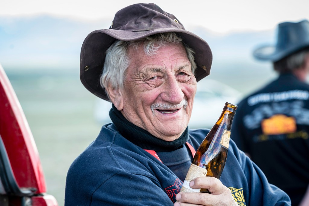 87 Year Old Rally Legend Gerry Crown Joins Epic Round the World Adventure