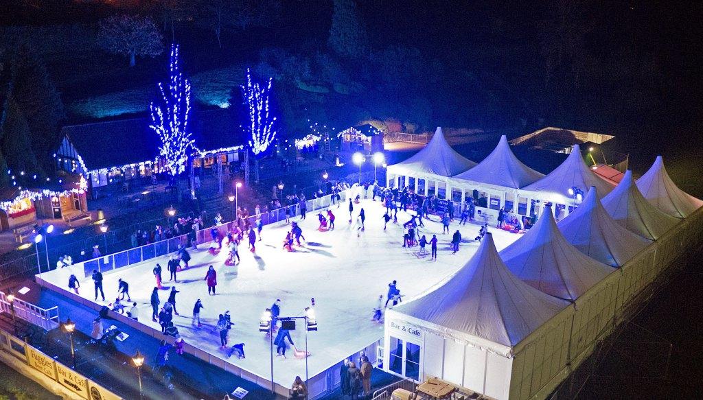 Even bigger real outdoor ice rink in Royal Tunbridge Wells