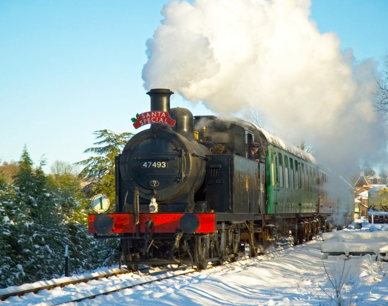 Santa Specials at the Spa Valley Railway