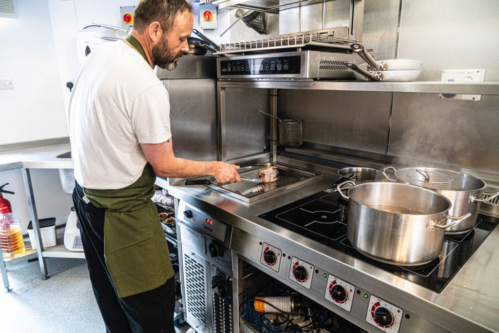 Newly Launched Bistro opts for Induction Cooking to Get Things Fired Up