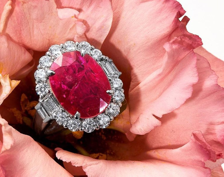 Rare 14.67 Carat Natural Ruby Smashes Initial Estimate at UK Auction 2