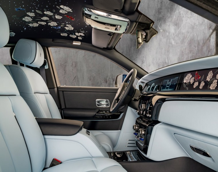 A Rolls-Royce Phantom Commission with One Million Embroidered Stitches