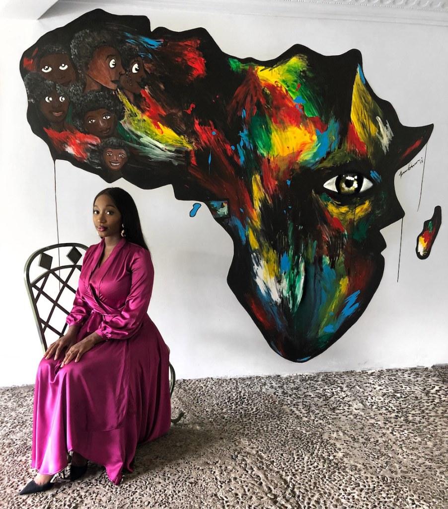 African Inspired Artwork from Sarah Owusu on the Ungalleried Platform