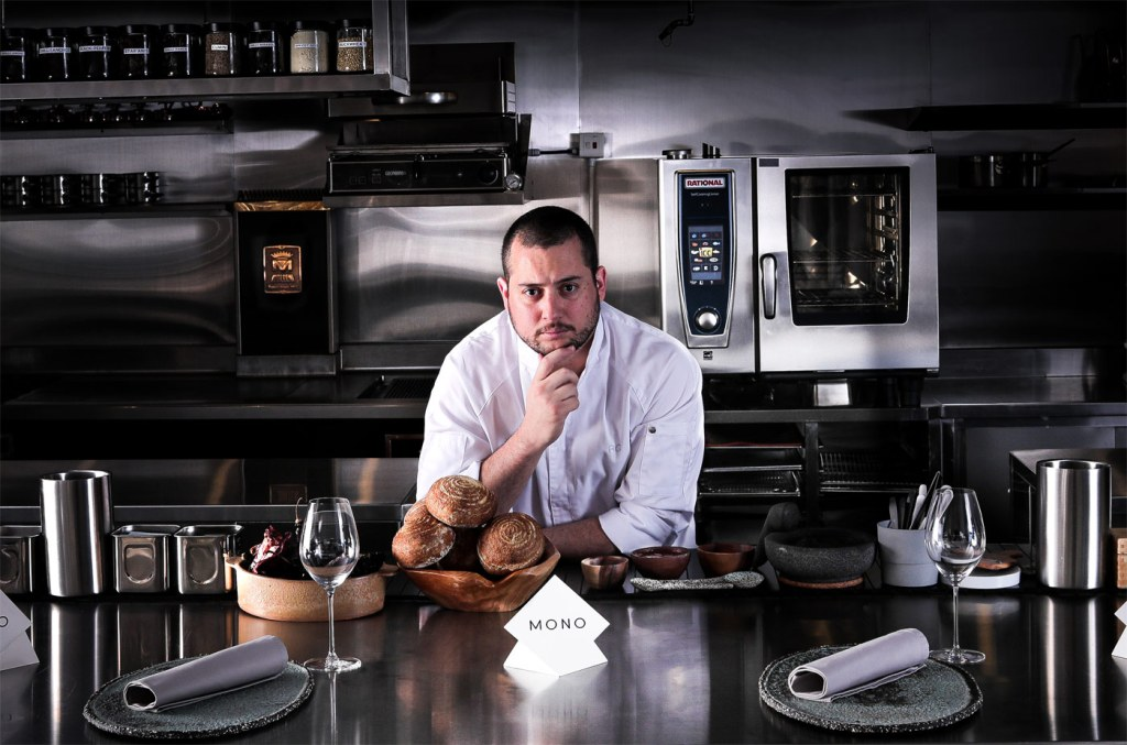 Chef Ricardo Chaneton in MONO restaurant Hong Kong