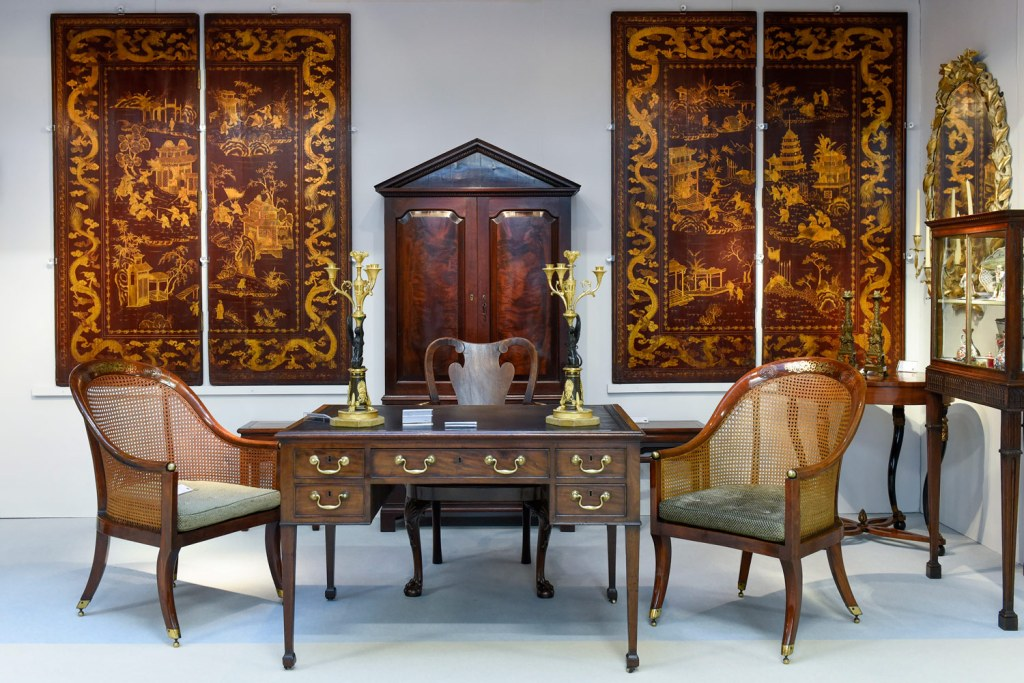 Furniture at The Art & Antiques Fair Olympia 2020