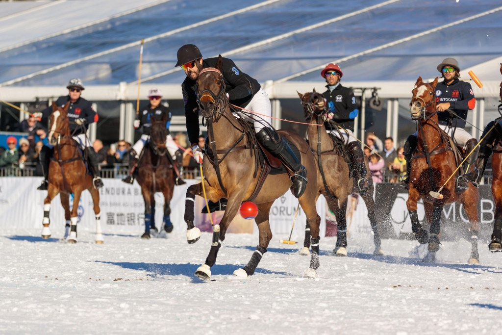 Intocast at 18th Bendura Bank Snow Polo World Cup Kitzbühel 2020