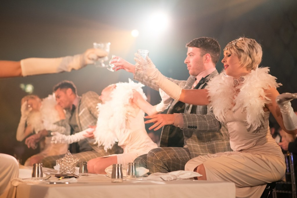 London Cabaret Club Gatsby With Love dinner