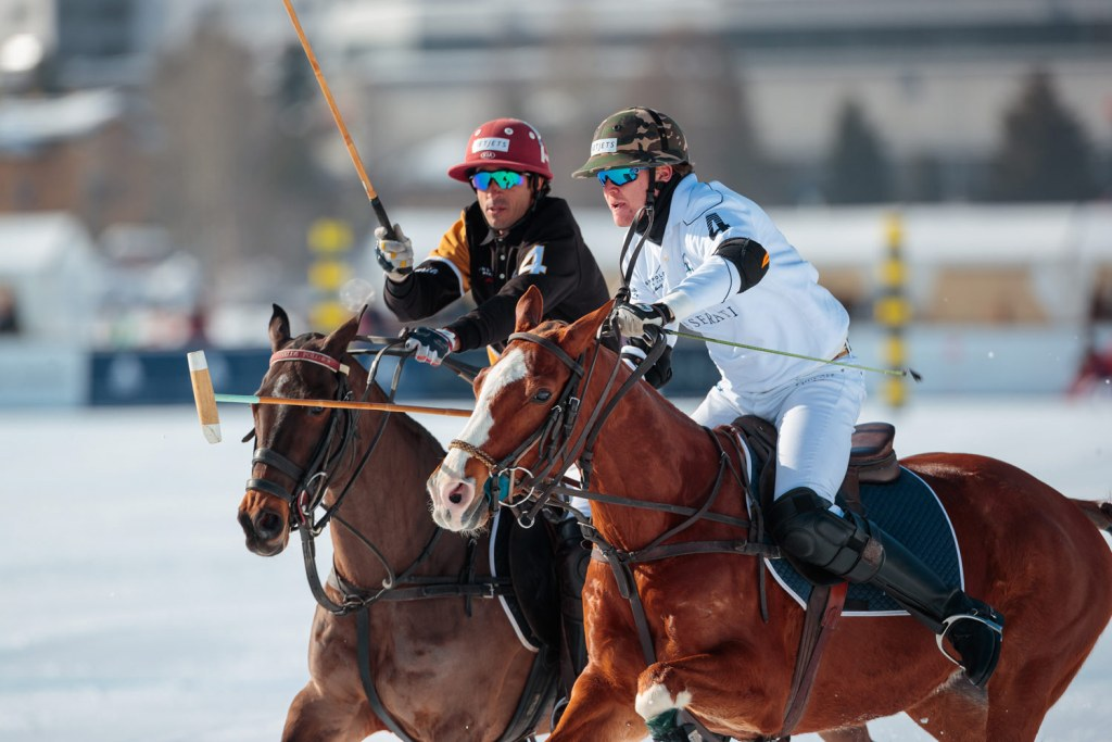 Badrutt's Palace and Maserati at the Snow Polo World Cup St. Moritz 2020