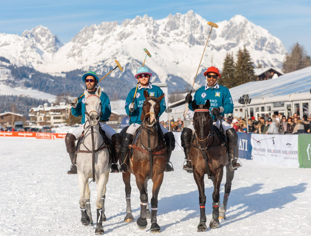 All Set for the 18th Bendura Bank Snow Polo World Cup Kitzbühel 2020 2