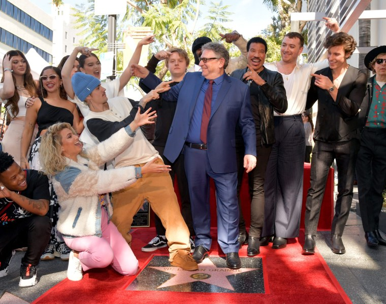 Sir Lucian Grainge Gets a Star on Hollywood's illustrious Walk of Fame 1