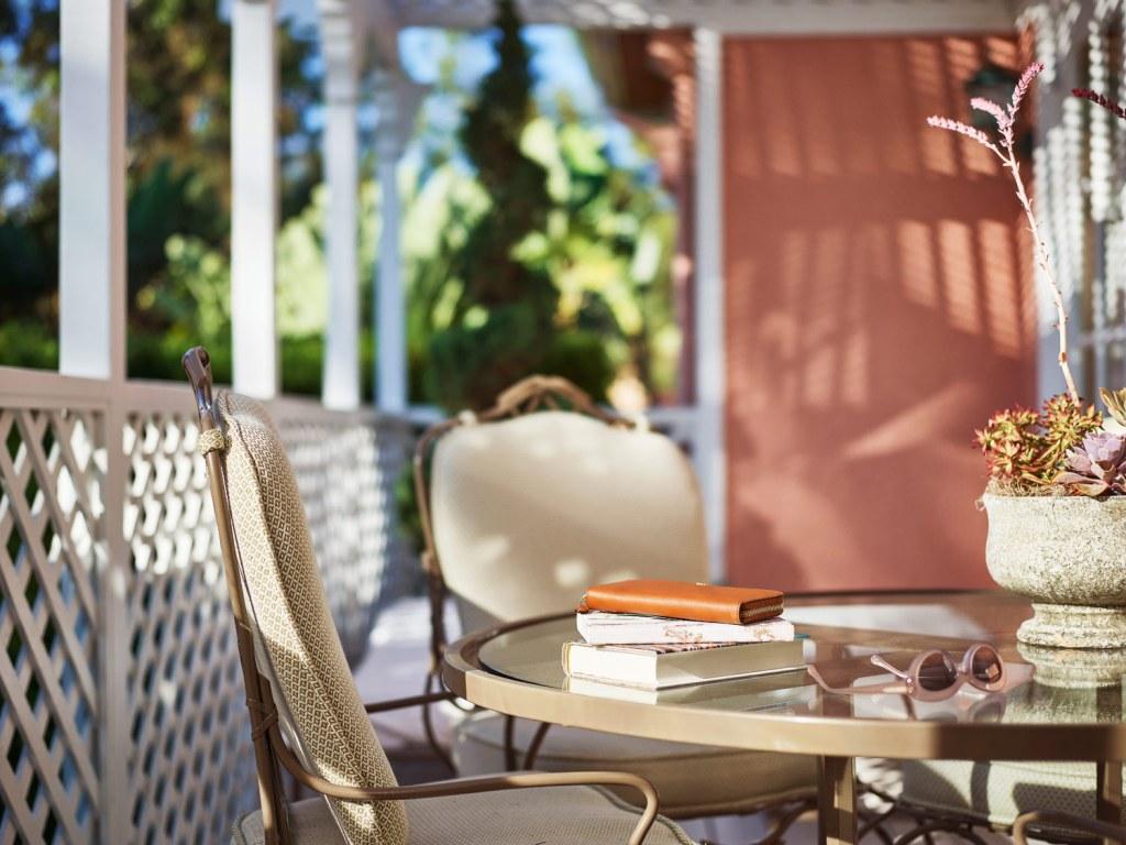 The veranda at Bungalow #9