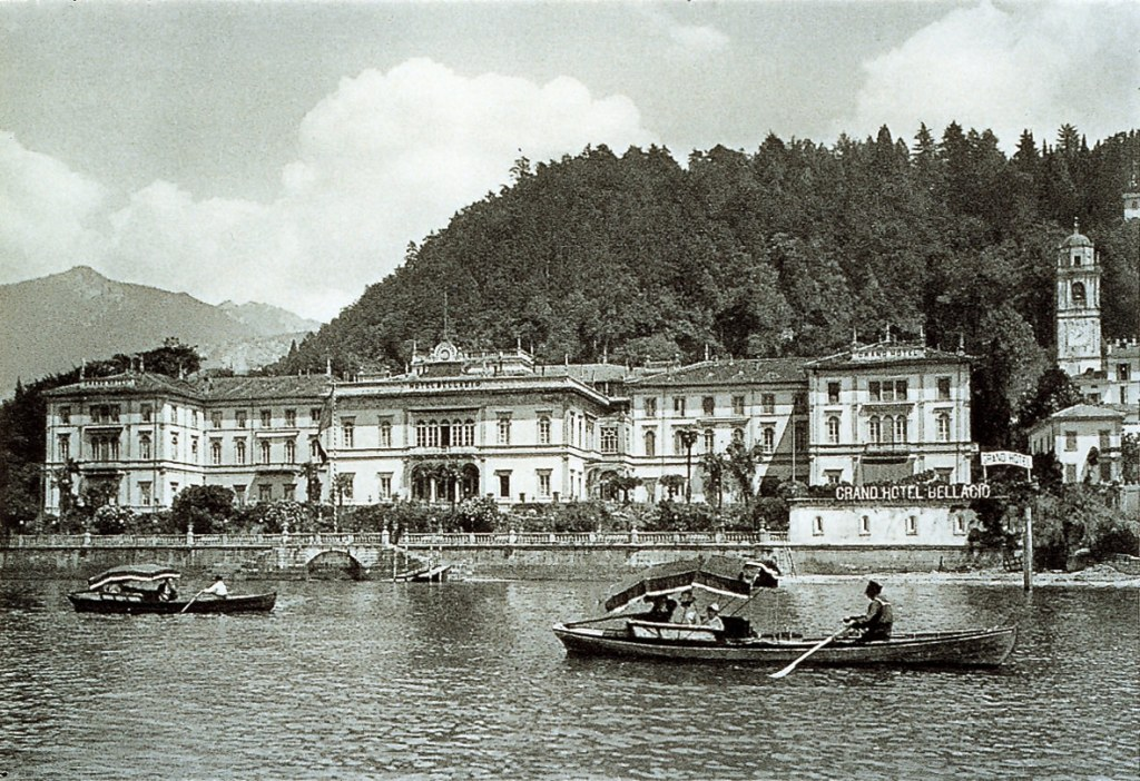The Grand Hotel Villa Serbelloni first opened in 1873