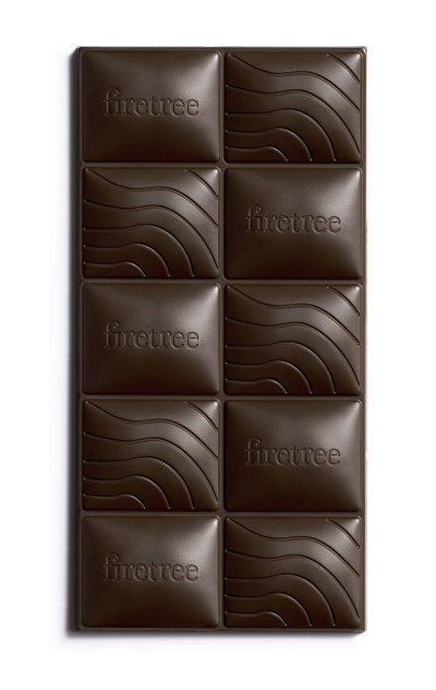 A bar of Firetree Chocolate