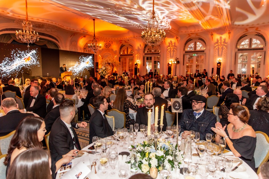 Guests at the Restaurant Association Awards