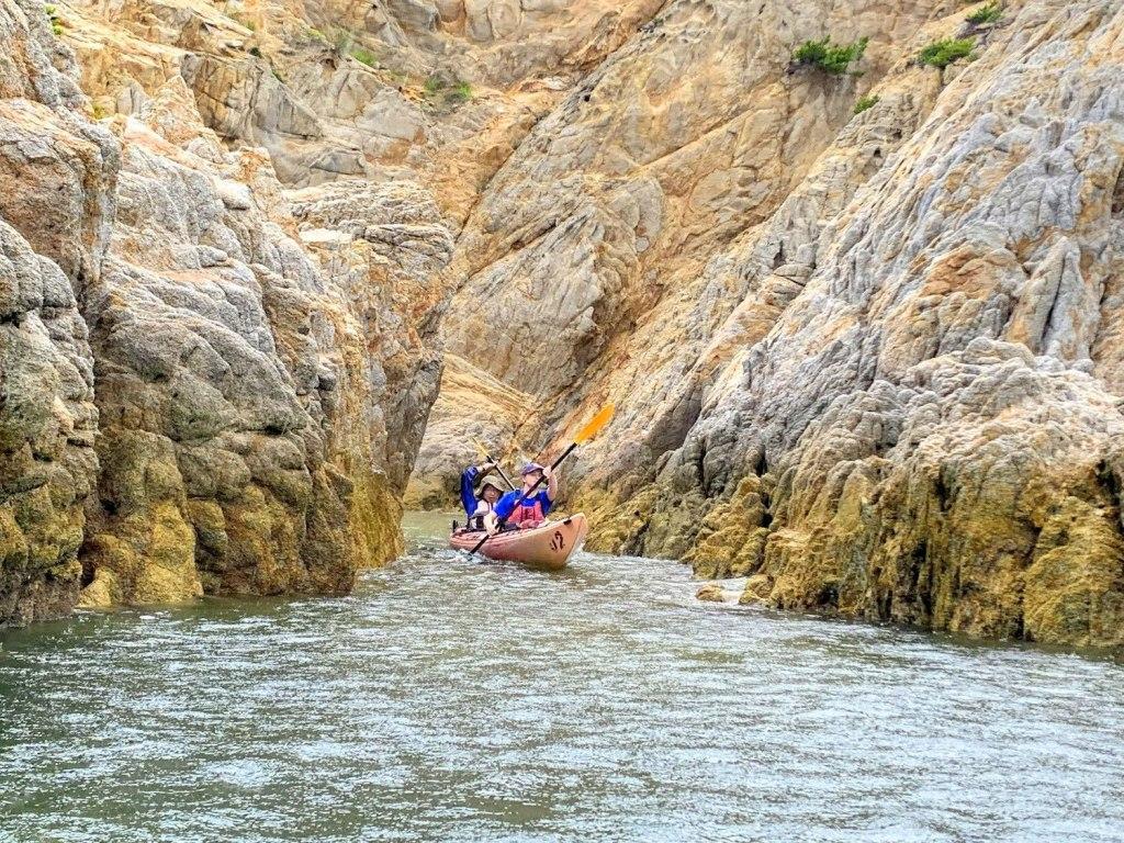 Kayak the seas of The Setouchi Region