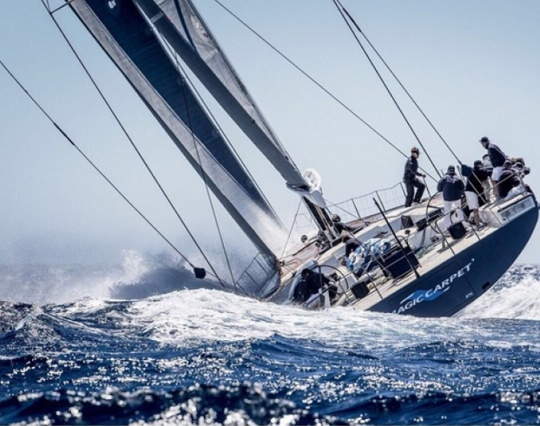 Magic Carpet at the Superyacht Cup Palma