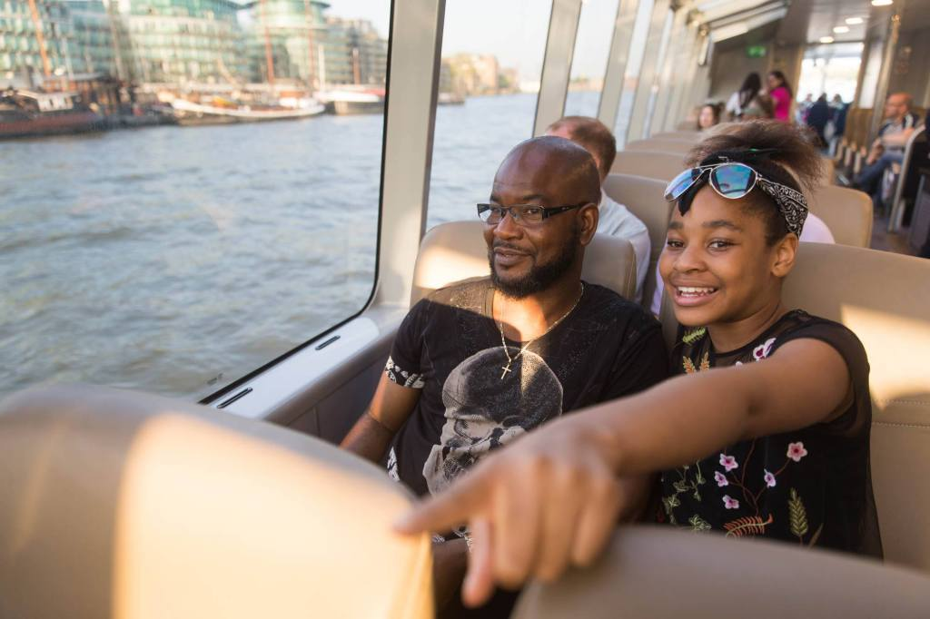 Mother's Day in 2020 on a Thames Clipper