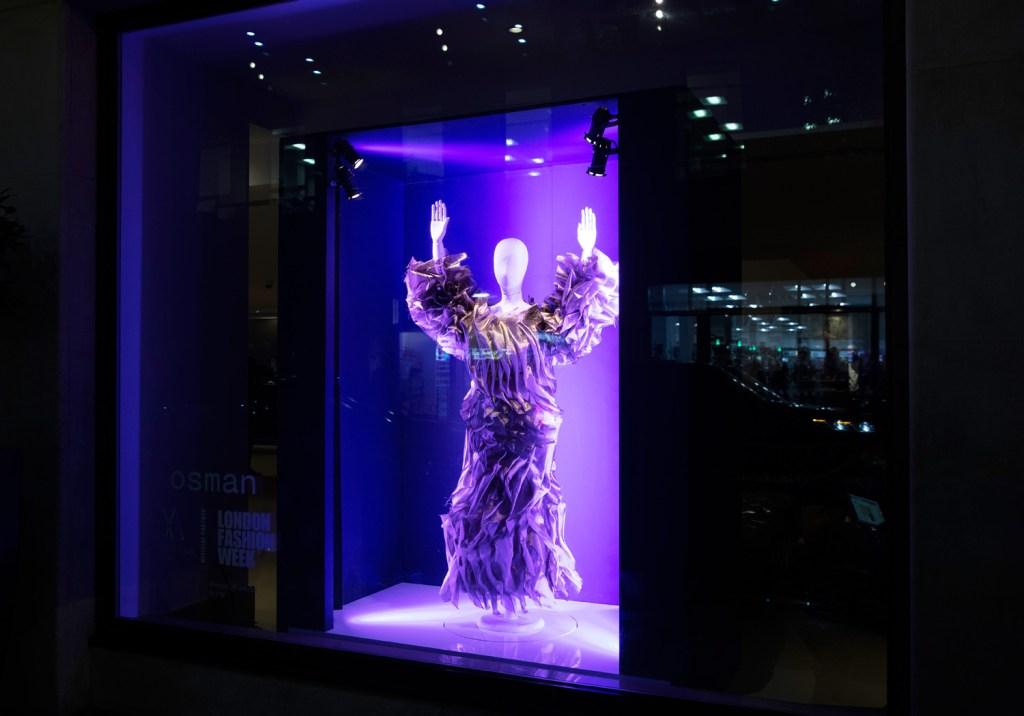 OSMAN Creates Bespoke Window Installation for the May Fair Hotel 3