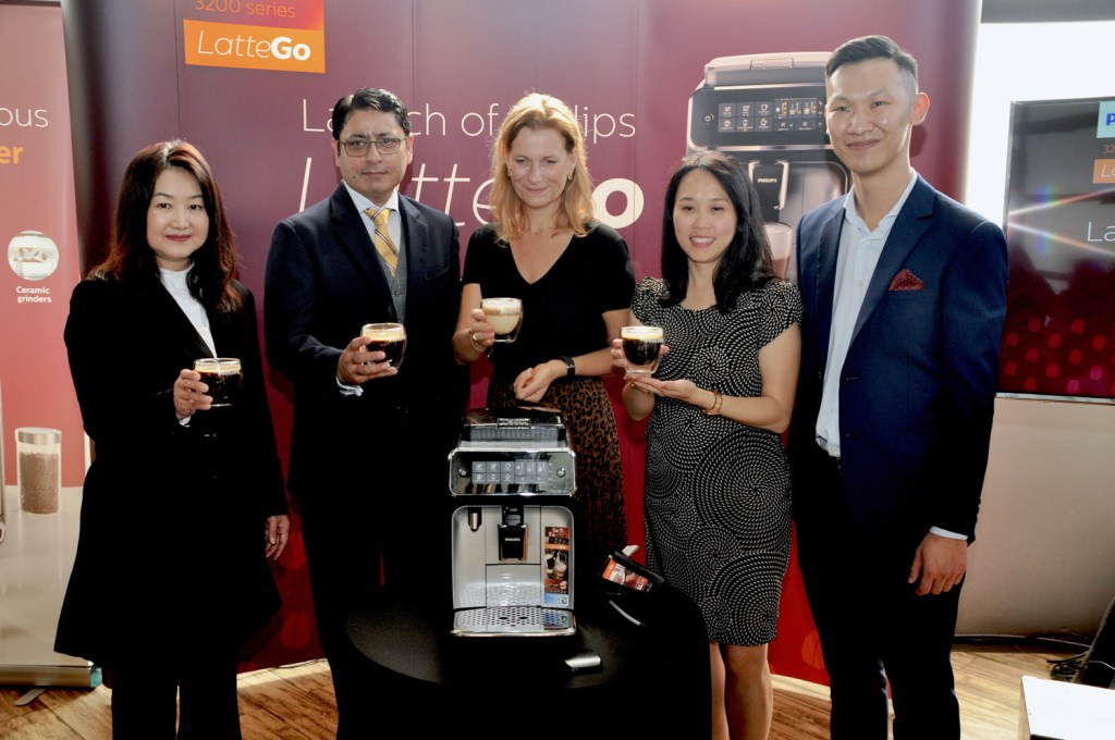 Philips LatteGo Coffee Machine launch in Malaysia