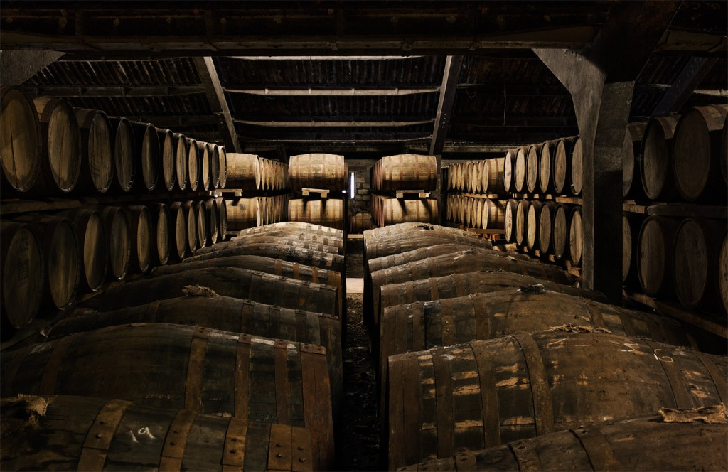 Casks at the Dalmore