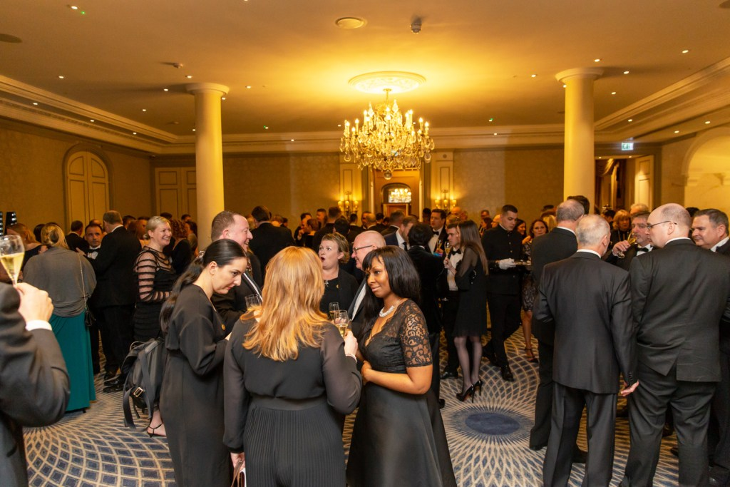 The Restaurant Association Gala Dinner 2020 drinks reception