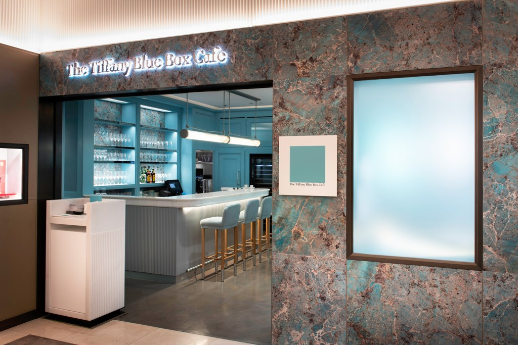 Portview Completes Tiffany's First Blue Box Cafe in Europe