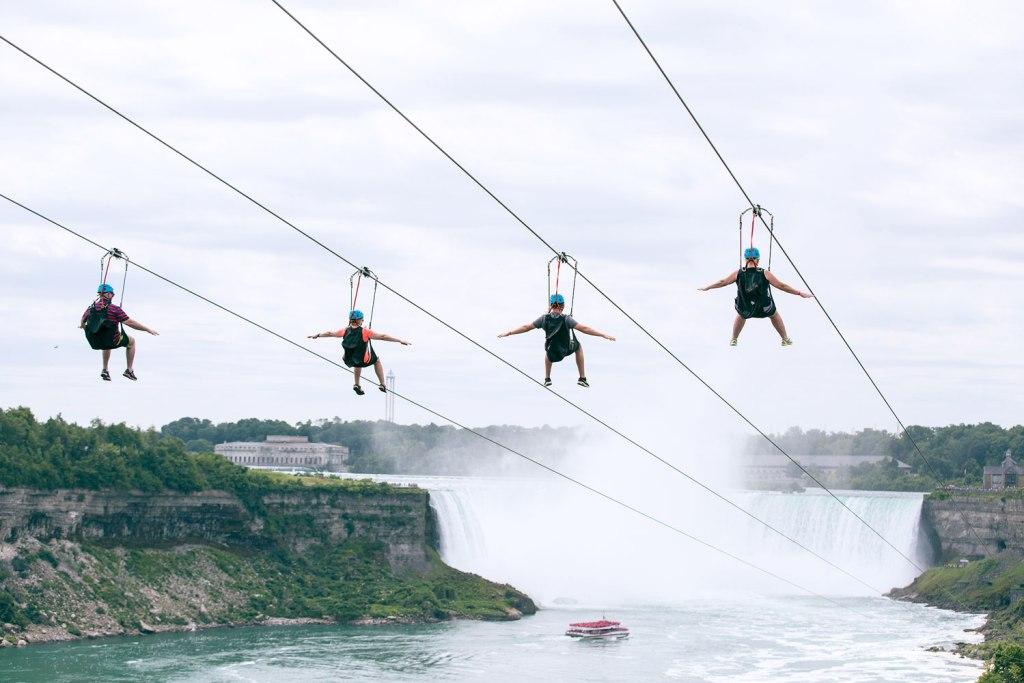 WildPlay Zipline at Niagra Falls