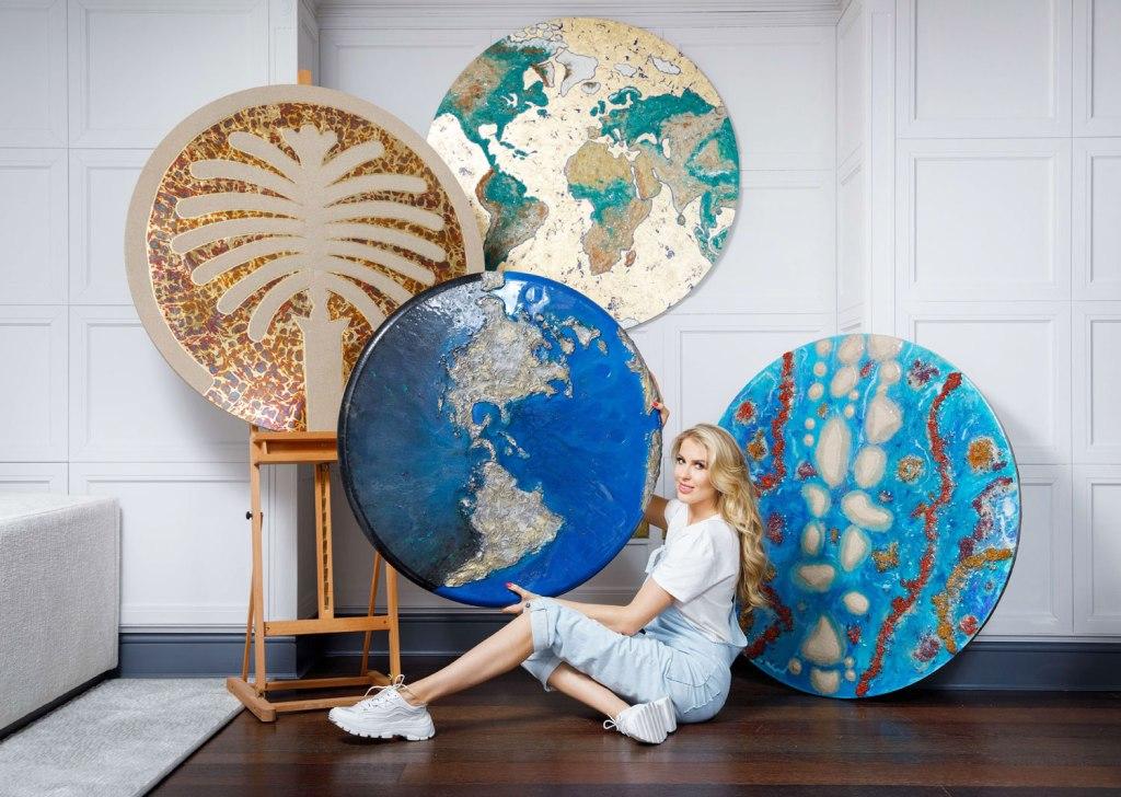 Contemporary artist Natalia Kapchuk and The Lost Planet series of artworks