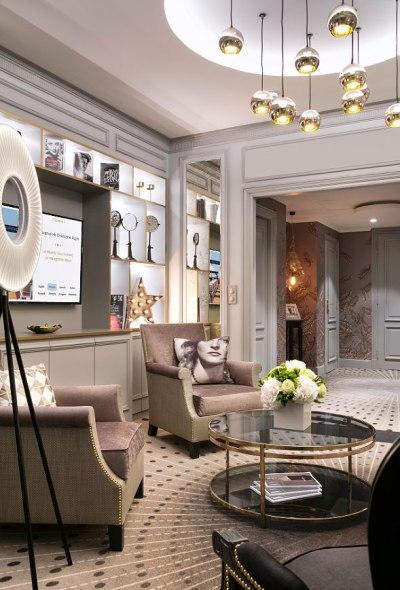 Hôtel Barrière Le Majestic Cannes lounge