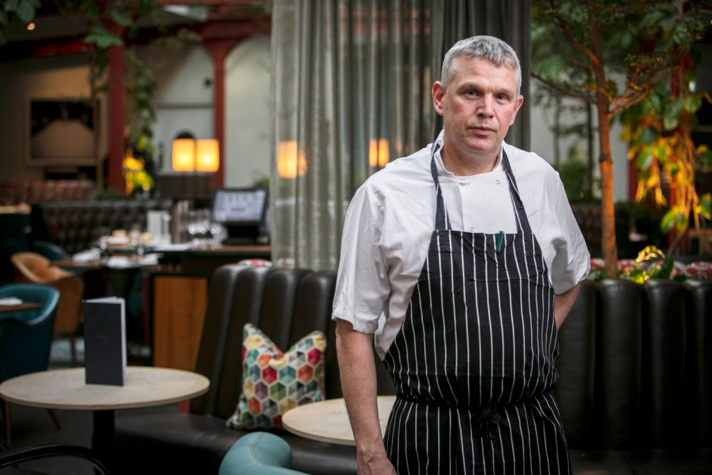 Harvey Ayliffe Executive Chef at Bluebird in Chelsea