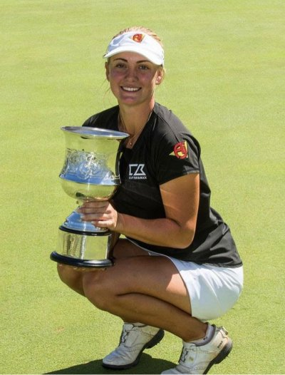 Julia Engstrom, First Ladies European Tour winner 2020