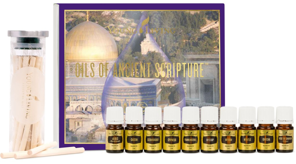 Young Living's Oils Of Ancient Scripture collection