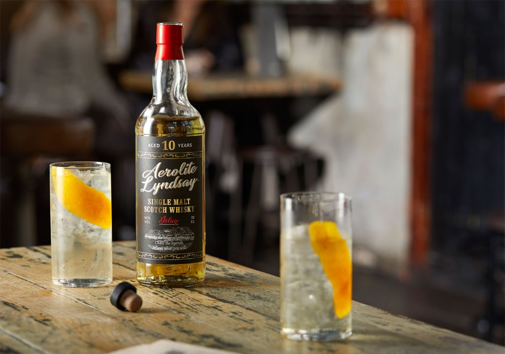 Aerolite Lyndsay 10 Year Old single malt whisky