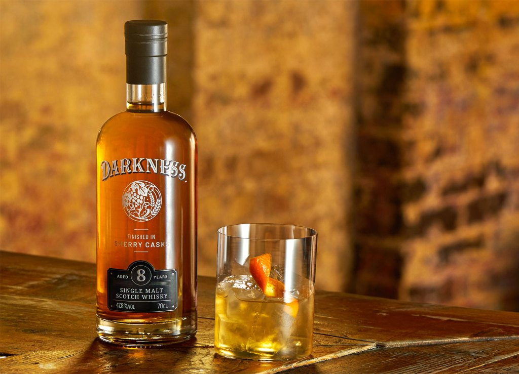 Darkness 8 Year Old single malt Scotch whisky