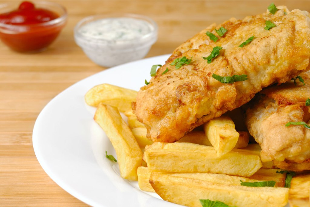 Google searches for Fish & Chips near me are up +2900%