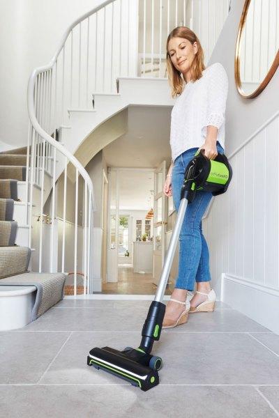 Gtech Pro cordless vacuum cleaner.