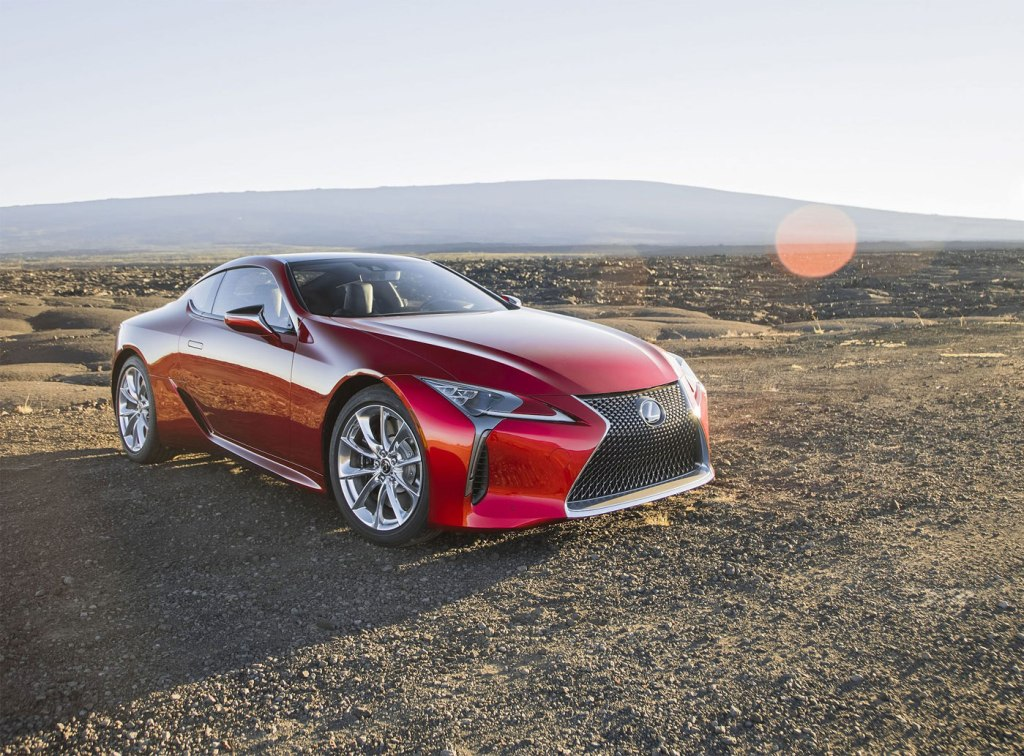 The LC coupe is a striking example of the creativity of the company's designers