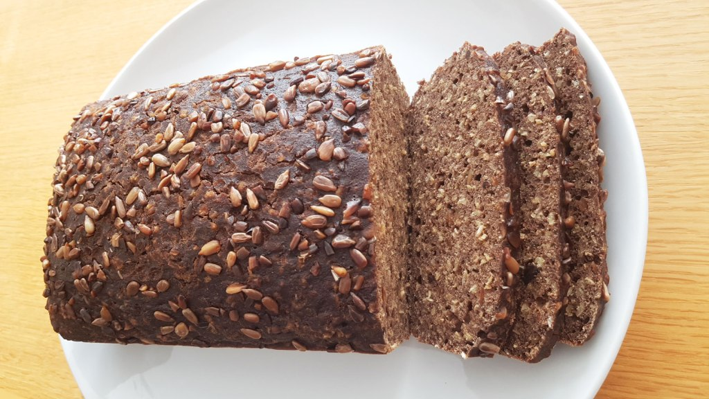 Sliced seeded bread made using Tobia Teff Flour