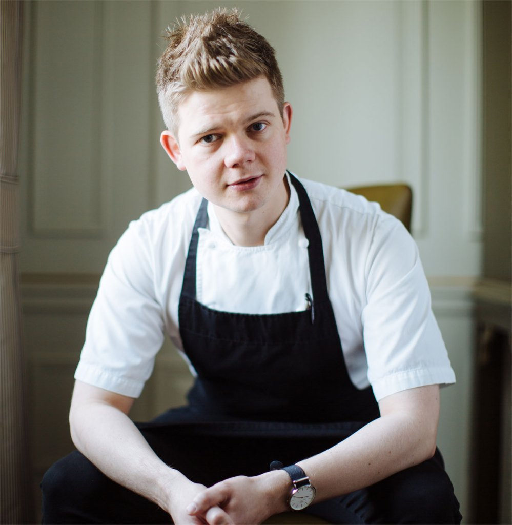 Tom Booton Head Chef at The Grill at The Dorchester